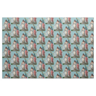 Vintage Lady Liberty Fabric