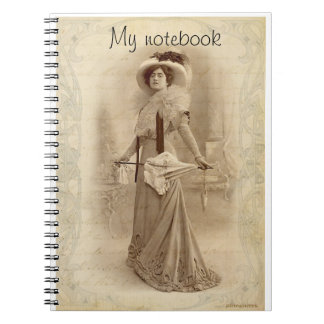 Vintage Lady Notebook
