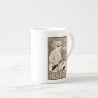 Vintage Lady Winchester Art Nouveau Shotgun Mug