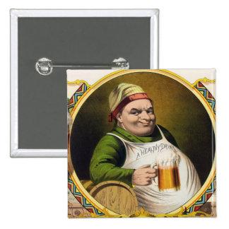 Vintage Lager Beer Advertisement Pins