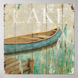 Vintage Lake Posters