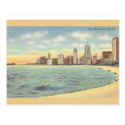 Vintage Lake Shore Drive Chicago Postcard