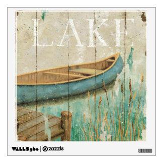 Vintage Lake Wall Decal