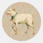 Vintage Lamb Art
