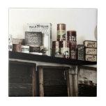 Vintage Laundry Soaps & Washboards Ceramic Tile
