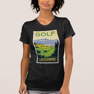 Vintage Lausanne Switzerland Golf Travel T-Shirt