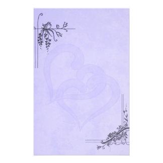 Vintage Lavender Wedding Personalized Stationery