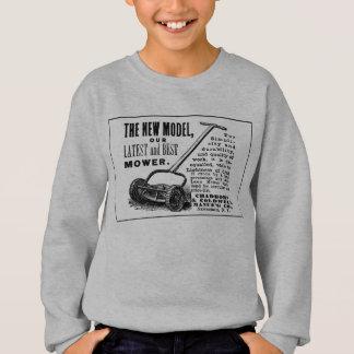 Vintage lawn mower advert sweatshirt