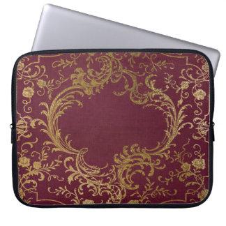Vintage Leather Bound Book Laptop Sleeve
