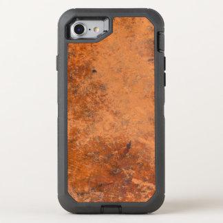 Vintage Leather Design OtterBox Defender iPhone 7 Case