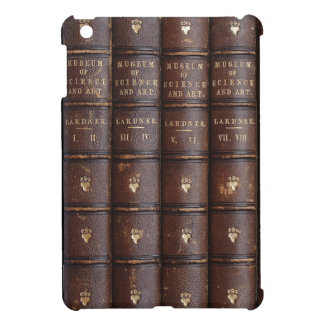 Vintage Leather Library Effect Mini iPad Case