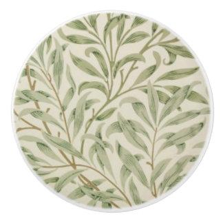 Vintage Leaves Ceramic Knob