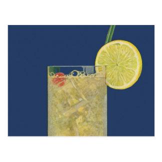 Vintage Lemonade or Fruit Soda, Drinks Beverages Postcard