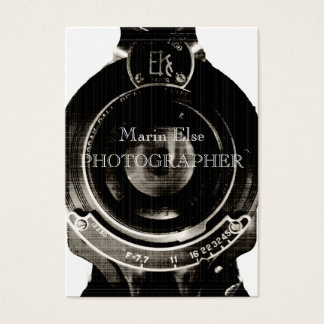 Vintage Lens Business Card