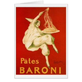 Vintage Leonetto Cappiello Italian pasta ad Card