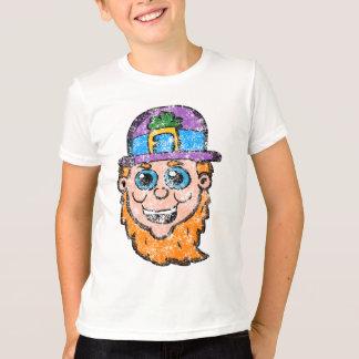 Vintage Leprechaun head T-Shirt