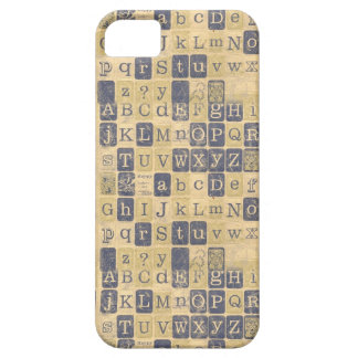 Vintage Letters iPhone 5 Cases