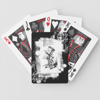 Vintage Lewis Carroll Mad Hatter Bicycle Playing Cards