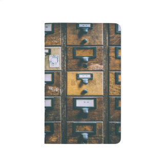 vintage librarian bullet journal