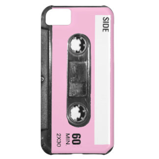 Vintage Light Pink Cassette iPhone 5C Covers