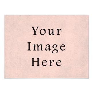 Vintage Light Rose Pink Parchment Paper Background Photo Art