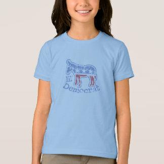 Vintage Lil' Democrat Donkey Kids T-Shirt