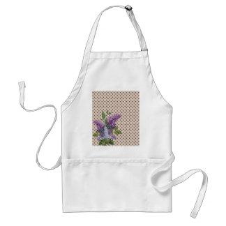 Vintage lilac standard apron