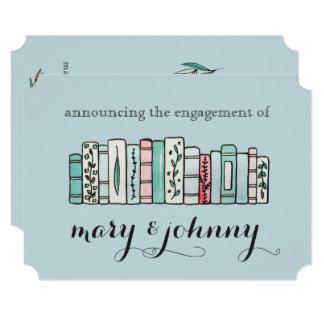 Vintage Lilies Engagement Announcements