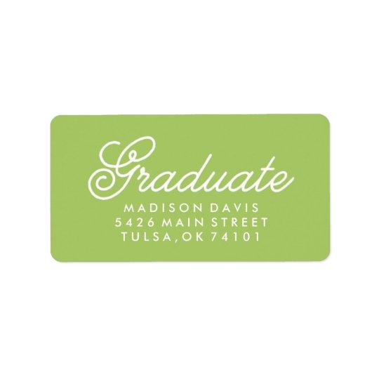 Vintage Lime Green | Graduation