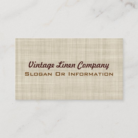 Vintage linen business cards zazzle vintage linen business cards reheart Image collections