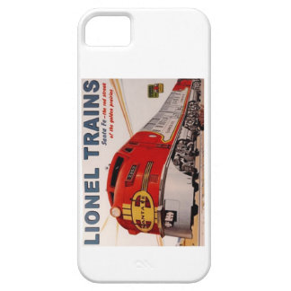 Vintage Lionel Train Poster iPhone 5/5s Case
