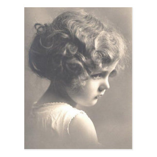 Vintage Little Girl Postcard