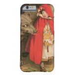 Vintage Little Red Riding Hood and Big Bad Wolf Barely There iPhone 6 Case