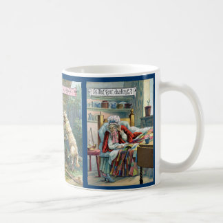 Vintage Little Red Riding Hood Mug