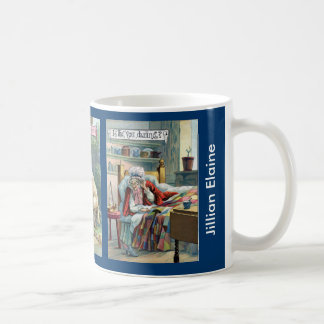 Vintage Little Red Riding Hood Personalized Mug