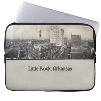 Vintage Little Rock Arkansas Laptop Sleeve