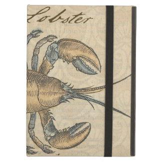 Vintage Lobster illustration iPad Air Case