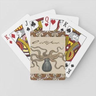 Vintage Lobster illustration Playing Cards