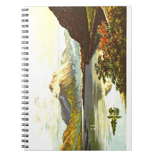Vintage Loch Maree Painting Notebook