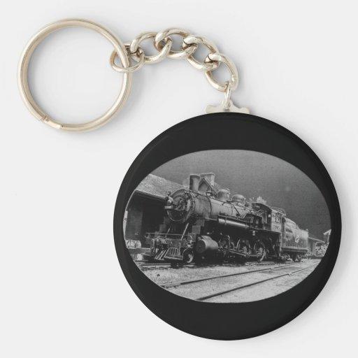 Vintage Locomotive Engine 1385 Key Chains