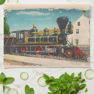 Vintage Locomotive Glenbrook Kitchen Towel
