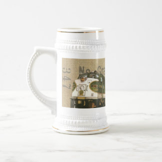 Vintage Locomotive Train Beer Stein