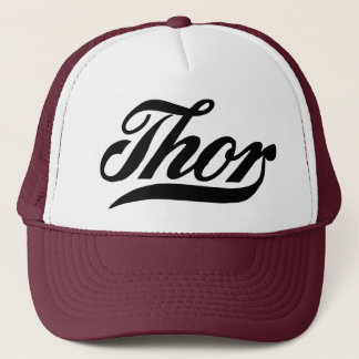 Vintage logo Thor motorcycles Trucker Hat