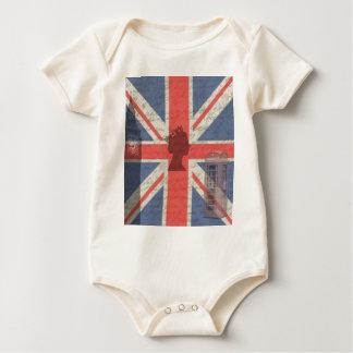 Vintage London Baby Bodysuit