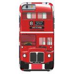 Vintage London Bus and Union Jack