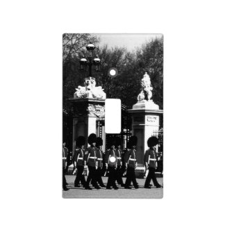 Vintage London Changing guard Buckingham palace Light Switch Cover