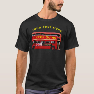Vintage London Double Decker Bus T-Shirt
