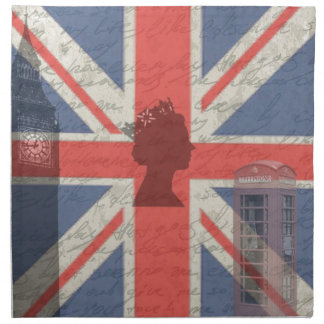 Vintage London Napkin