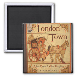 Vintage - London Town Magnet