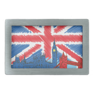 vintage lone flag and cities belt buckles